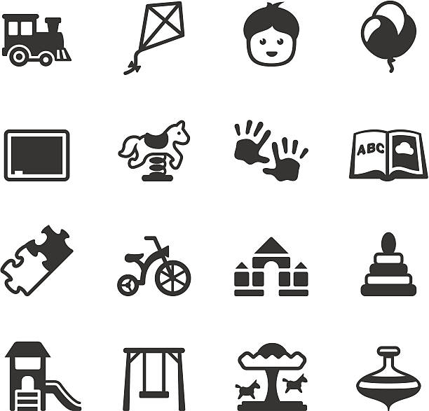 soulico - childhood - recess stock illustrations, clip art, cartoons, & icons