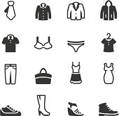 Soulico collection - Clothing icons.