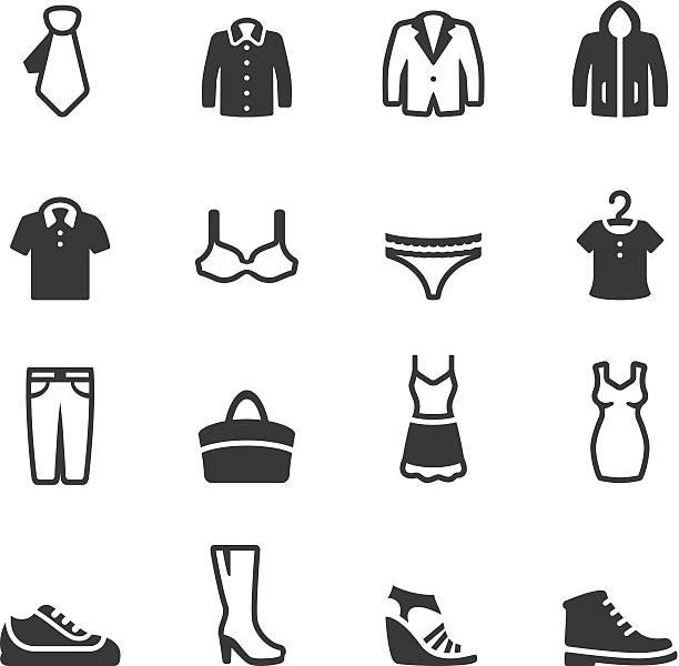 soulico -服アイコン - 靴のファッション点のイラスト素材/クリップアート素材/マンガ素材/アイコン素材
