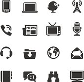 Soulico icons collection - Communications and New Media icons.