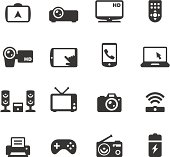 Soulico icons collection - Electronics and gadgets icons.