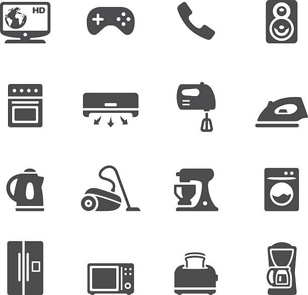Soulico - Household Equipment vector art illustration