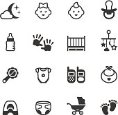 Soulico collection - Baby icons.