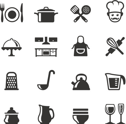 Soulico Icons Cooking Stock Illustration - Download Image Now