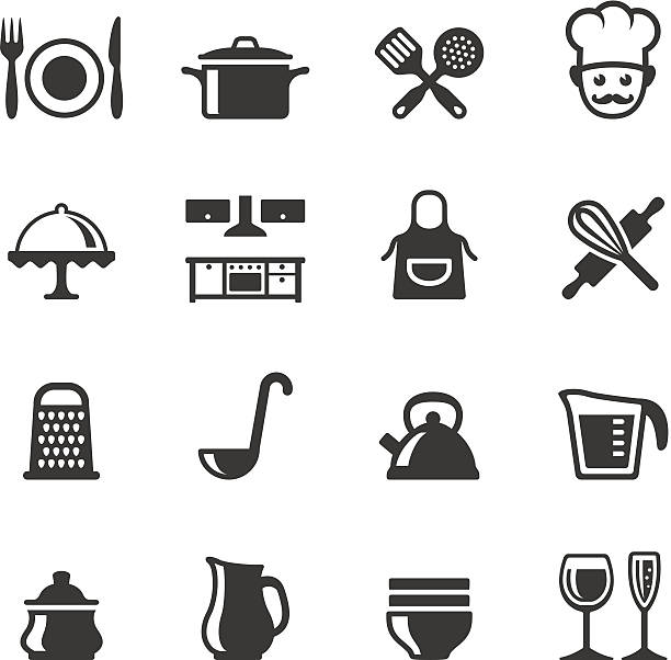 Soulico icons - Cooking Soulico collection - Domestic Kitchen and Cooking icons. grater utensil stock illustrations