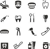 Soulico collection - Dental icons.