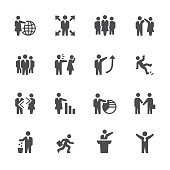 Soulico collection - Employment Issues and Human Resources related icons.