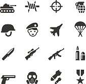 Soulico collection - Military icons.