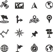 Soulico collection - Navigation and Map icons.