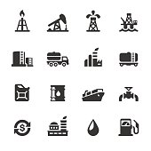 Soulico collection - Oil Industry icons.