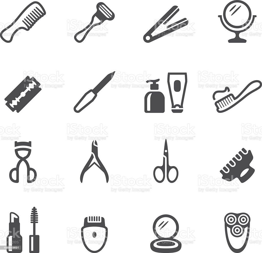 Soulico ícones-Acessório pessoal - ilustração de arte em vetor
