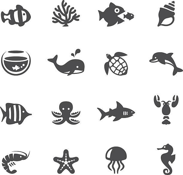 soulico アイコン-海の生物 - 水族館点のイラスト素材/クリップアート素材/マンガ素材/アイコン素材