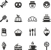 Soulico collection - Sweet Food icons.