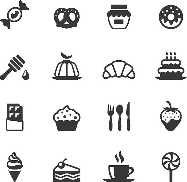 Soulico icons - Sweet Food Soulico collection - Sweet Food icons. jello stock illustrations