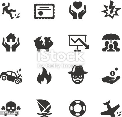 Soulico collection - Insurance icons.