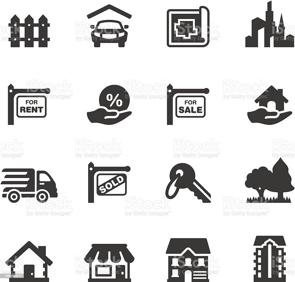 Soulico - Real Estate vector art illustration