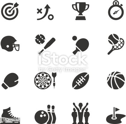 Soulico collection - Sport and Activity icons.