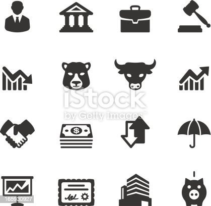 Soulico icons collection - Stock Market Investment icons.