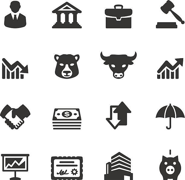 Soulico - Stock Market vector art illustration