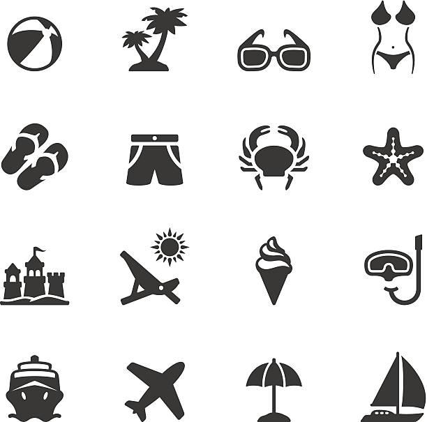 illustrations, cliparts, dessins animés et icônes de soulico-été - chateau de sable