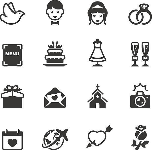 soulico hochzeit symbole - rosenhochzeitskleider stock-grafiken, -clipart, -cartoons und -symbole