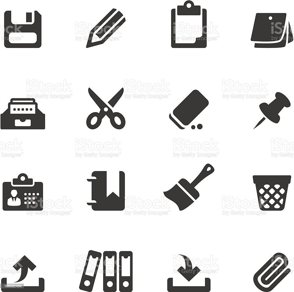 Soulico - Workplace royalty-free soulico workplace stock vector art & more images of clipboard