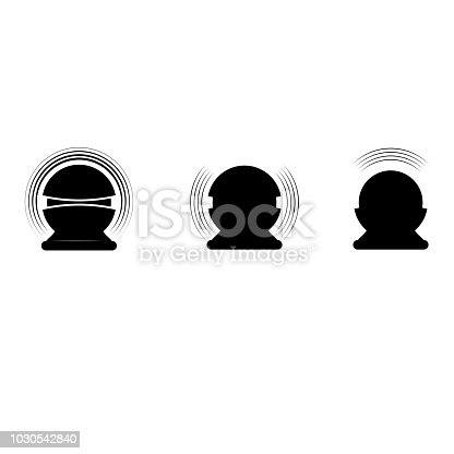 istock Sound assistant silhouettes 1030542840