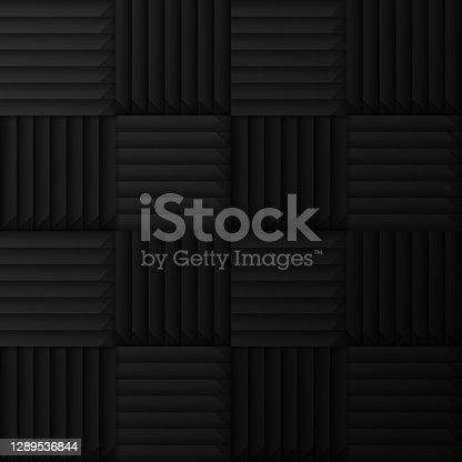 istock Sound Dampening Seamless Pattern 1289536844