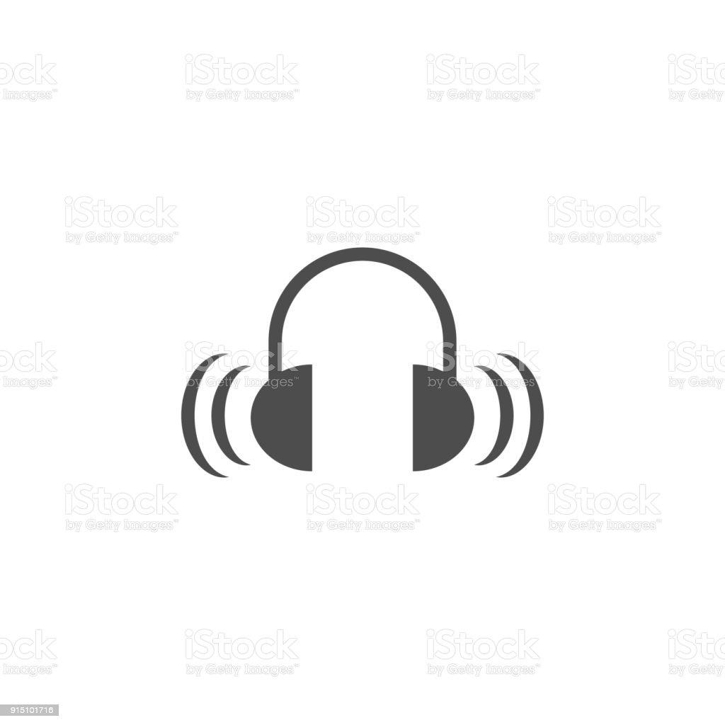 Sound From Headphones Icon Elements Of Web Icon Premium Quality