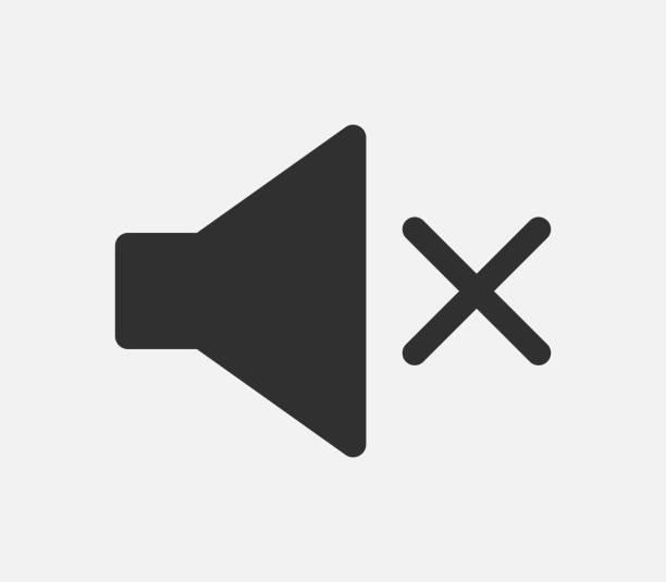 ilustrações de stock, clip art, desenhos animados e ícones de sound icon isolated on white background. vector illustration. - tranquilidade
