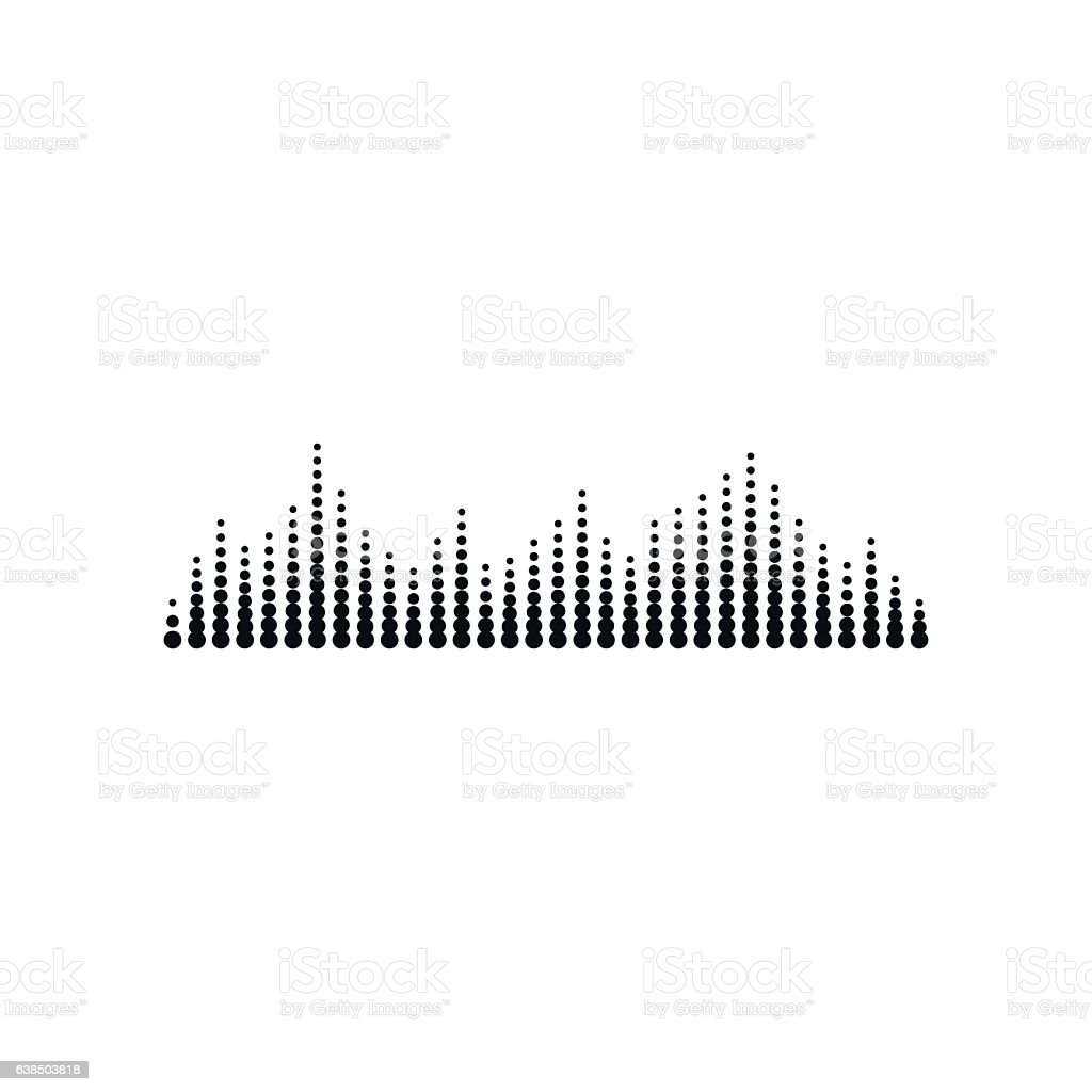 sound or audio wave stock vector art more images of abstract