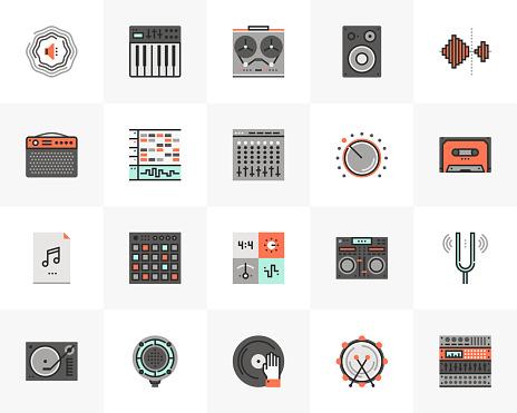 Sound Production Futuro Next Icons Pack