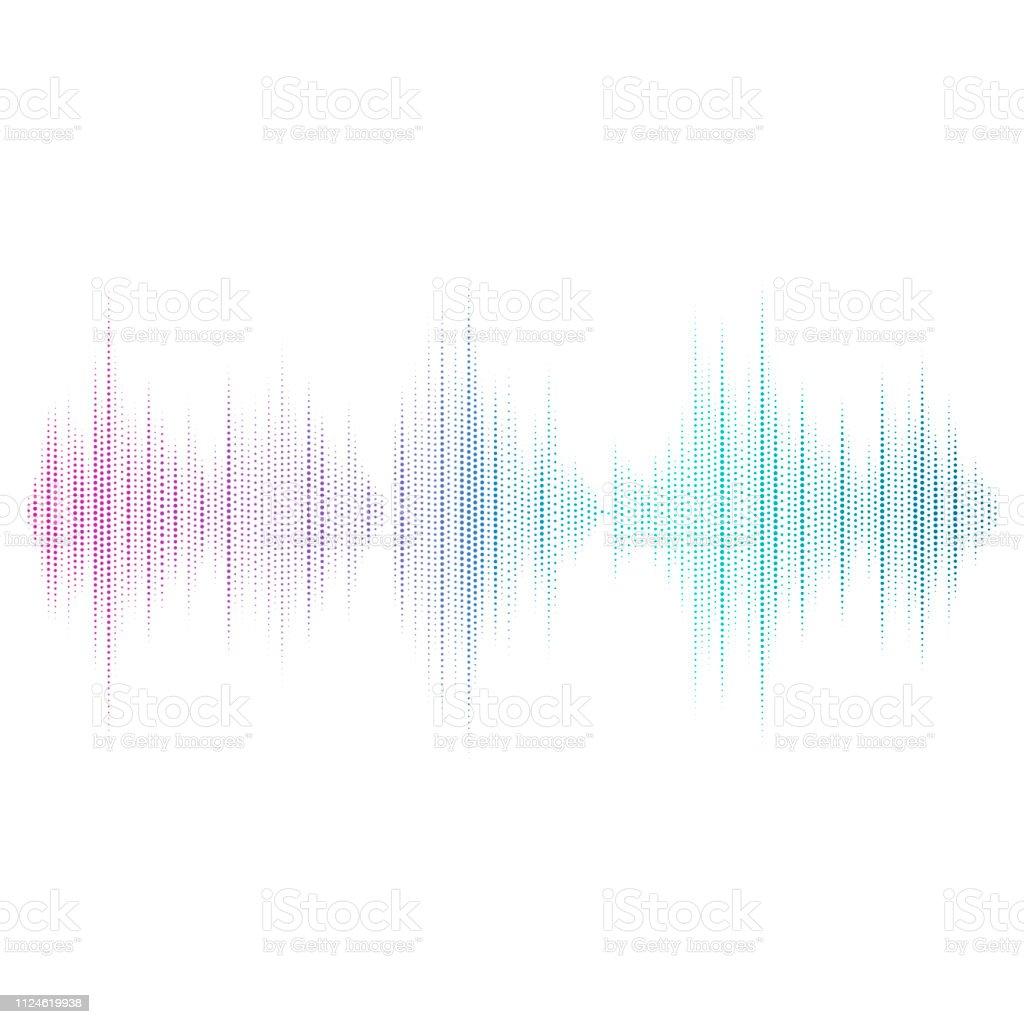 音波イコライザー ベクトル デザイン - DJのロイヤリティフリーベクトルアート