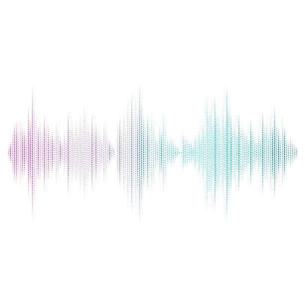 音波イコライザー ベクトル デザイン - 音響点のイラスト素材/クリップアート素材/マンガ素材/アイコン素材