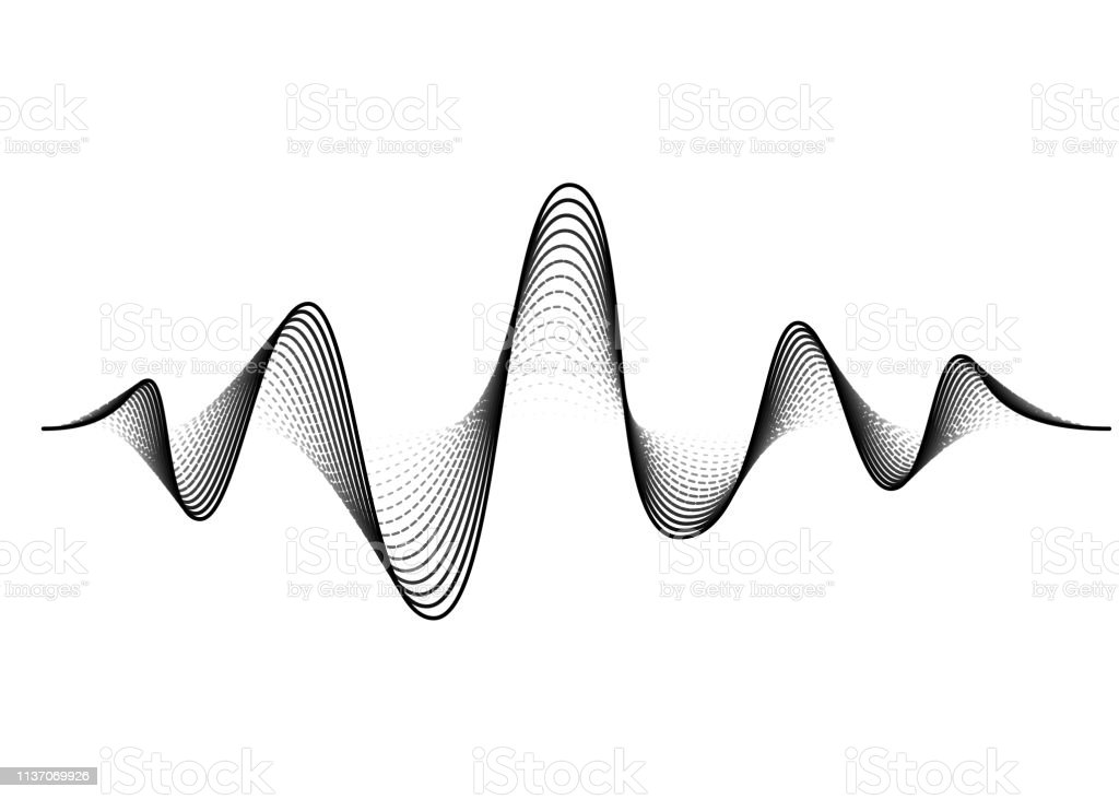 Sound Wave Vector Background Audio Music Soundwave Voice Frequency