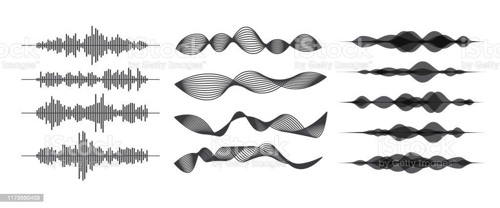 音波 - アイコンのロイヤリティフリーベクトルアート