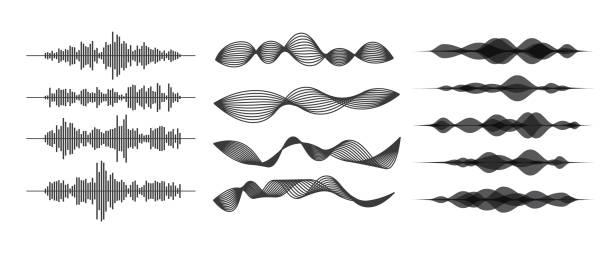 音波 - 音響点のイラスト素材/クリップアート素材/マンガ素材/アイコン素材