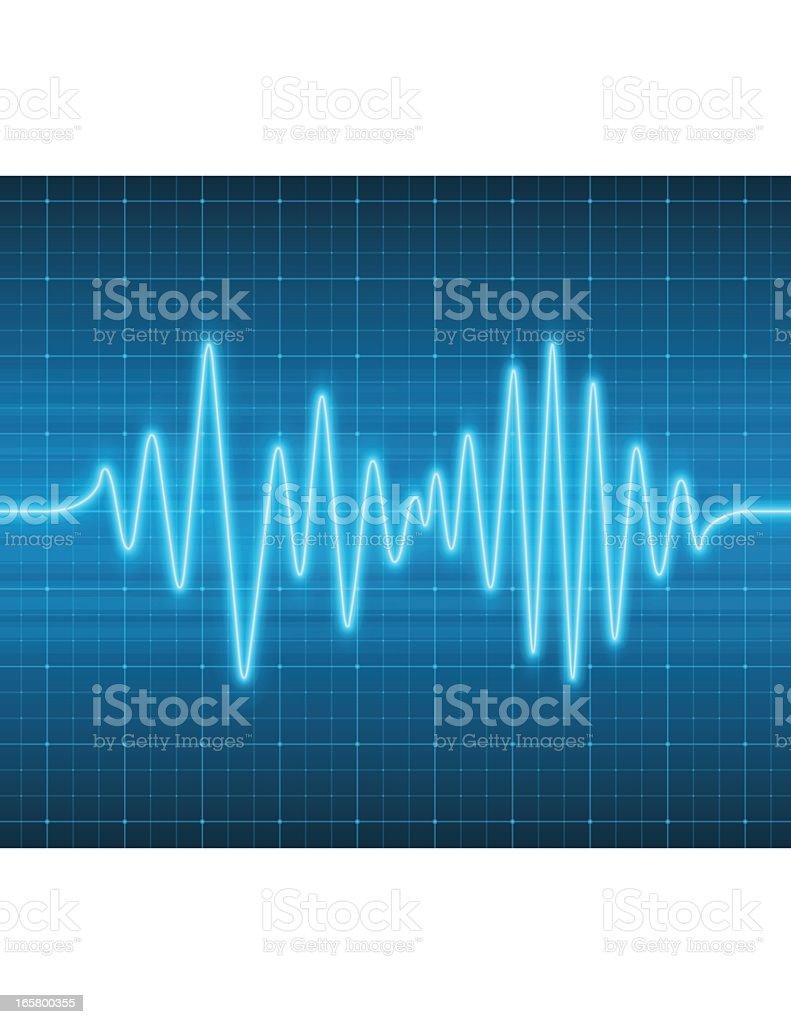 Sound Wave vector art illustration