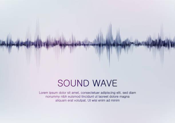 sound wave – Vektorgrafik