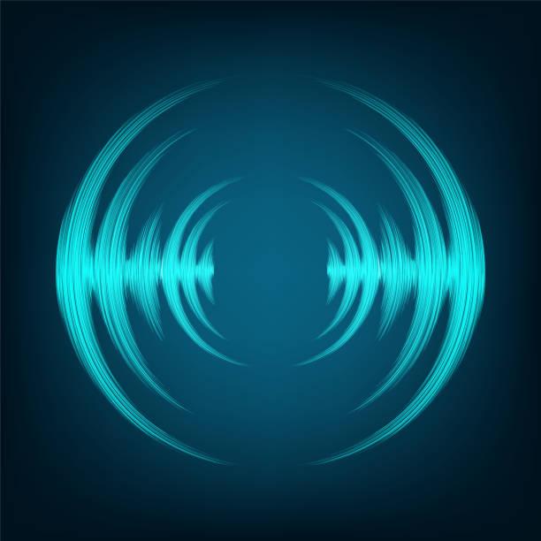 solide Waveconcept. – Vektorgrafik