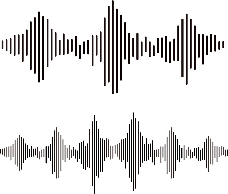 sound waves frequency design elements