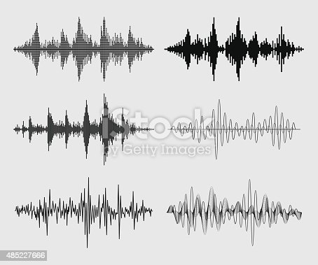Collection of audio waveforms