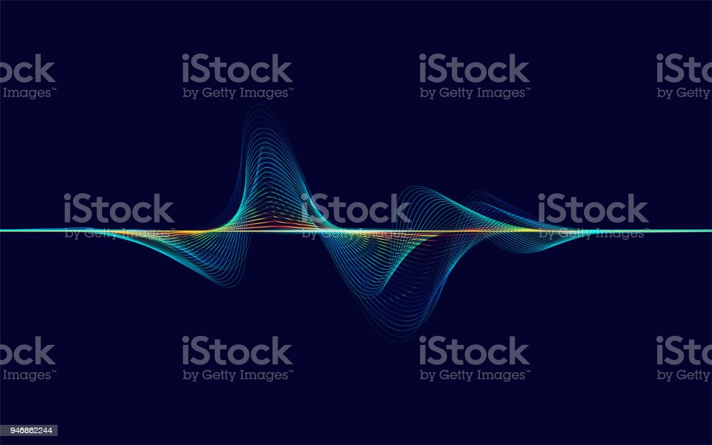 soundWave - Royalty-free Abstract stock vector