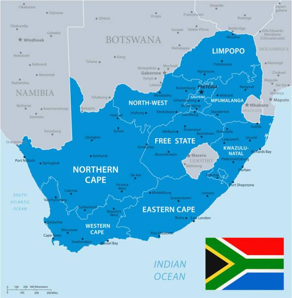 bildbanksillustrationer, clip art samt tecknat material och ikoner med 33 - sydafrika - blå grå 10 - south africa