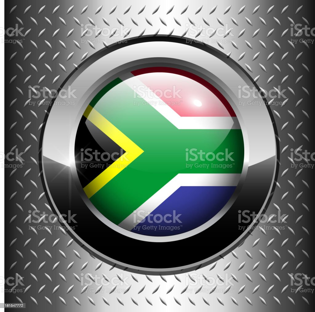 South Africa flag button royalty-free south africa flag button stock vector art & more images of africa
