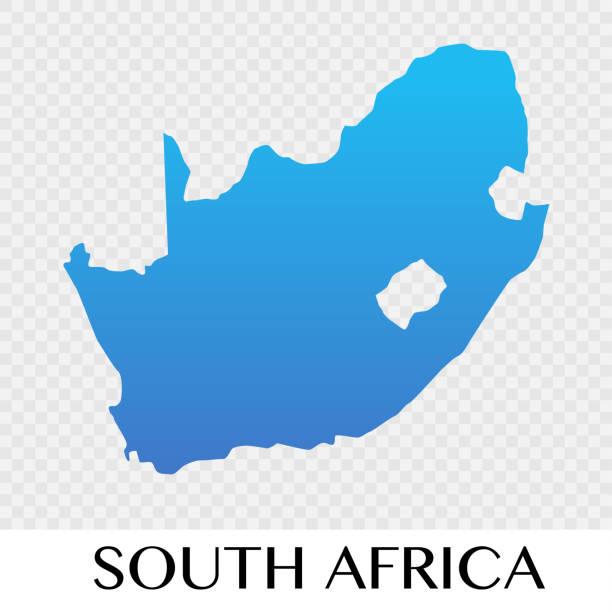 bildbanksillustrationer, clip art samt tecknat material och ikoner med sydafrika karta i afrika kontinenten illustration design - south africa
