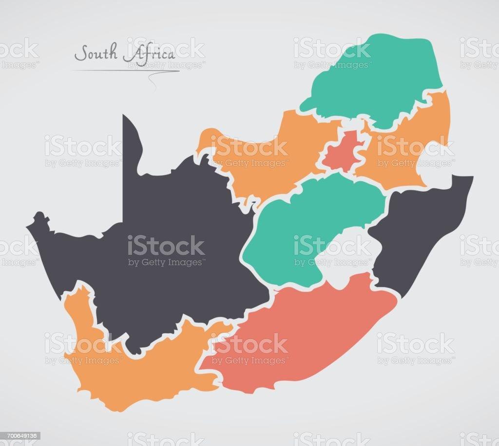 モダンなラウンド形状と南アフリ...