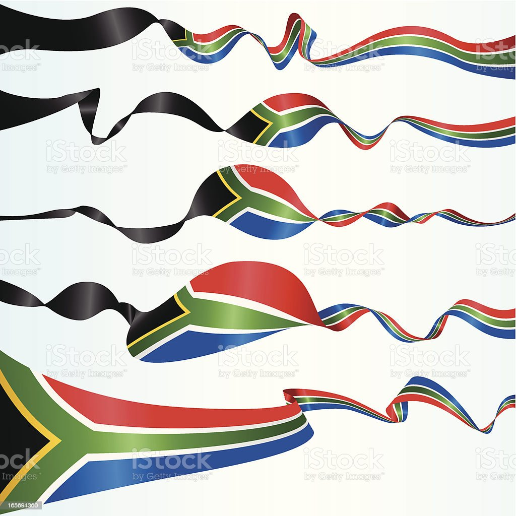 South African Banners royalty-free stock vector art