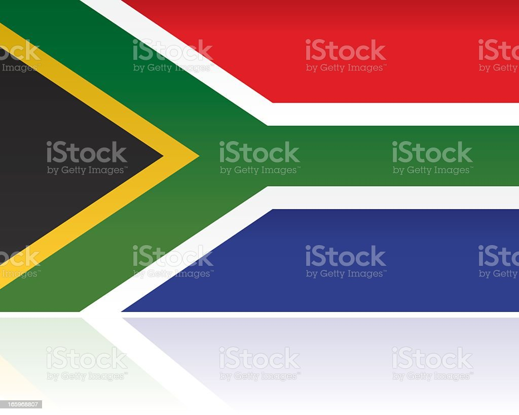 South African Country Flag, Africa royalty-free stock vector art