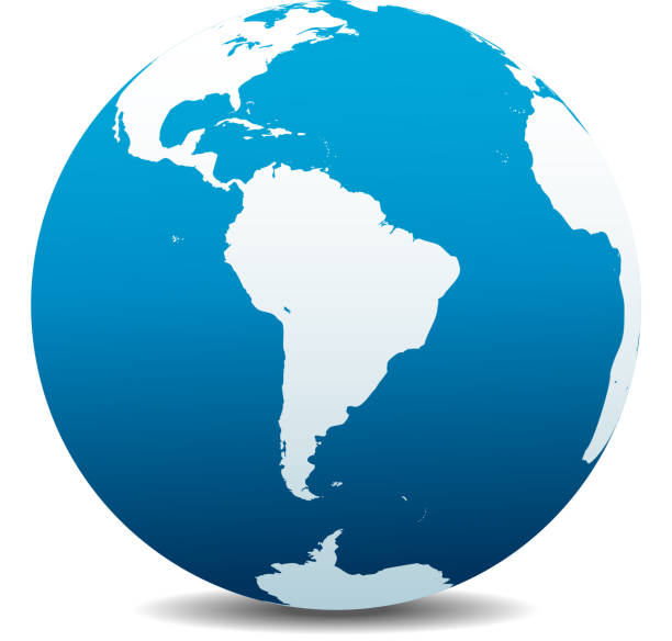 South America Global World South America Global World latin america stock illustrations